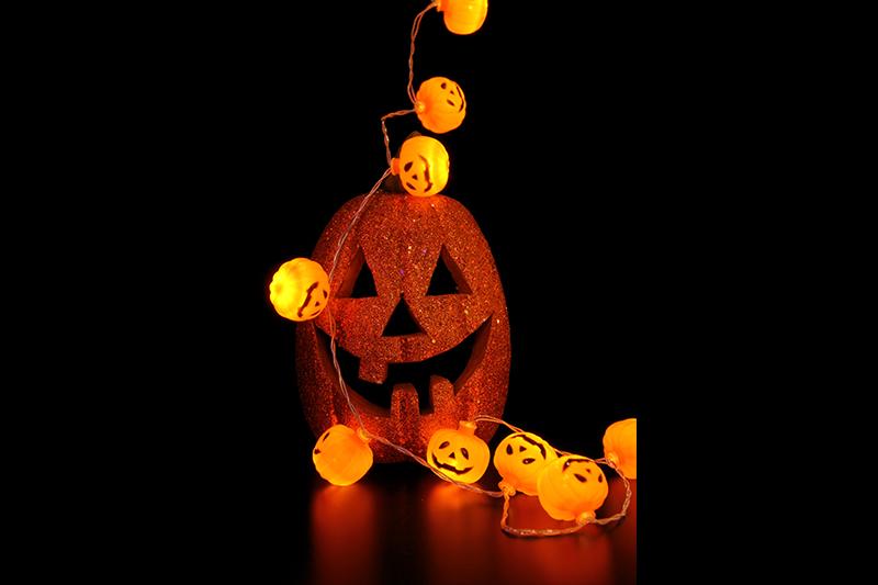 Halloween BO  Pumpkin LED Lights