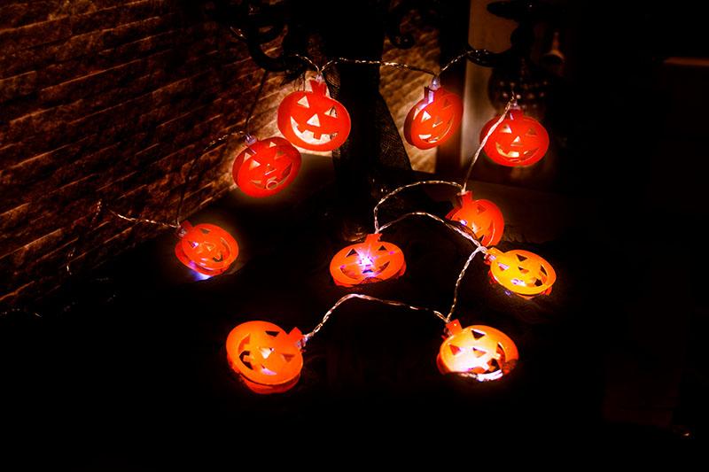 Halloween BO Pumpkin Lights