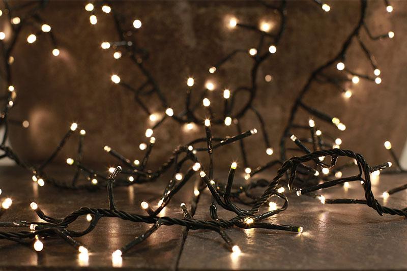 LED Cluster Lights - Warm White