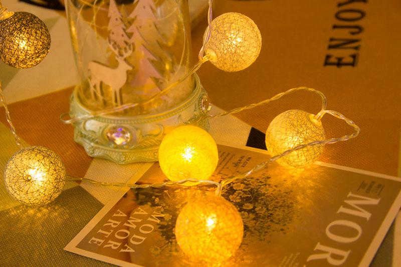 LED Cotton Ball Light