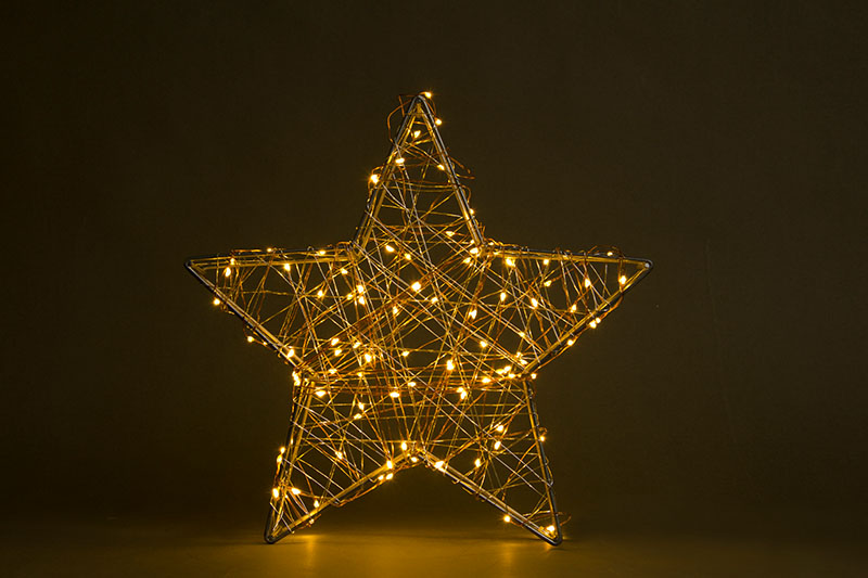 Metal Star With Copper Wire