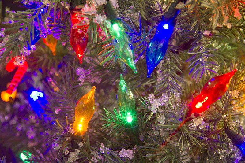 Multi Colour LED Flame Profile Light