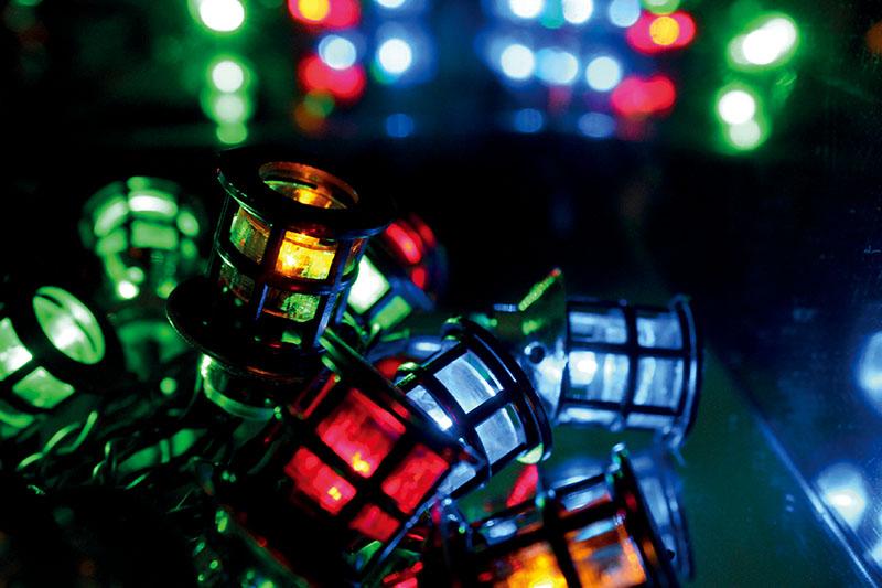 Multi Colour LED Mini Lanter Lights