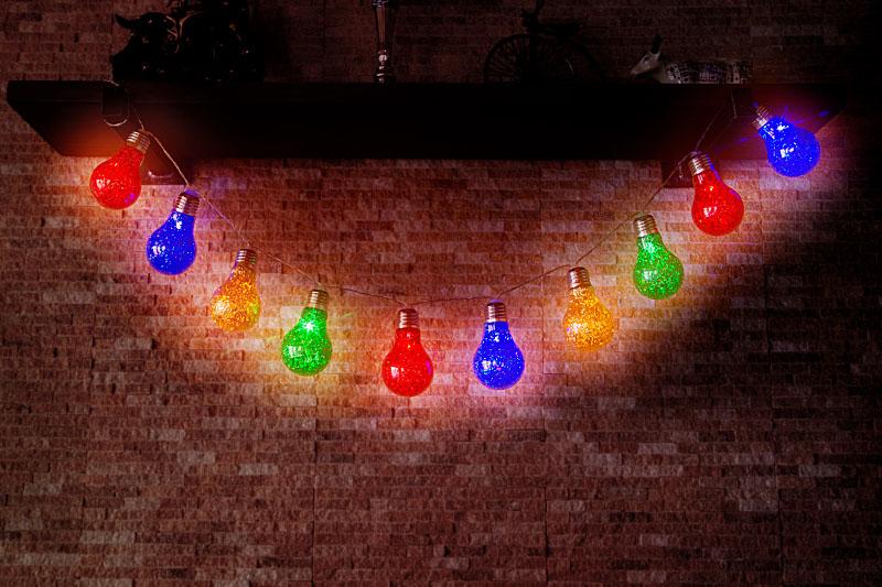 Multi Colour  LED Party Lights