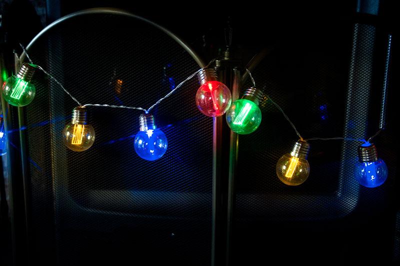 Multi ColourE27 Party Light