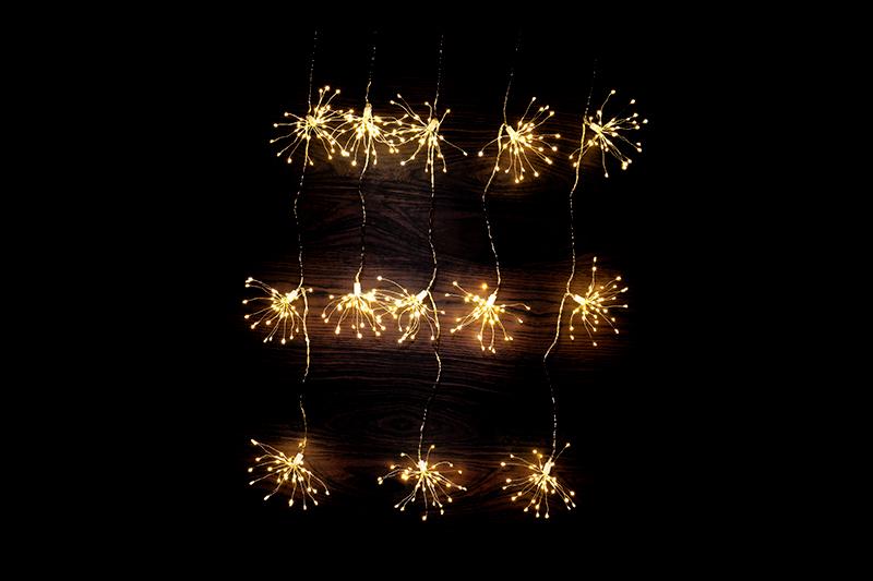 Starburst Curtain Light