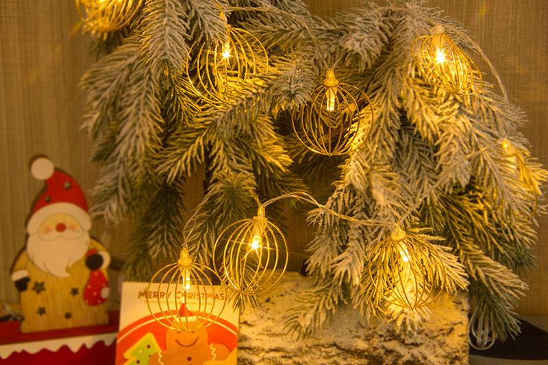 Warm White LED Metal Silhouette Light