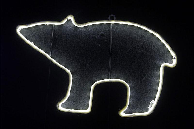 B/O 10 WARM WHITE LED NEON