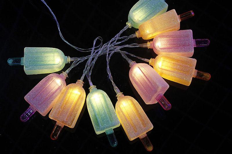 B/O WARM WHITE LED POPSICLE LIGHTS
