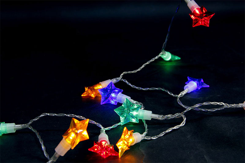 B/O MULTI COLOUR LED STAR LIGHTS