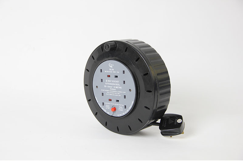 4 WAY CABLE REEL